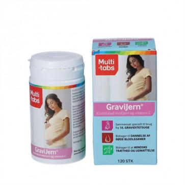Multi-Tabs GraviJern 120 tabletter