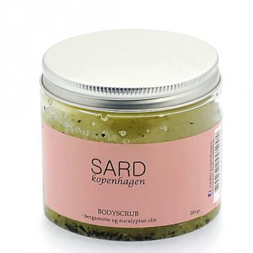 Sard Body Scrub Bergamotte og Eucalyptus 200 ml.