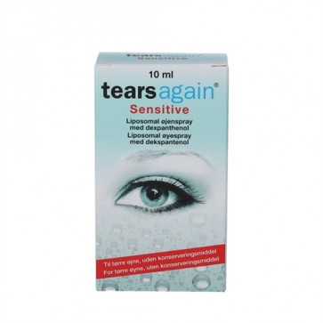 Tears Again Sensitive Øjenspray 10 ml.