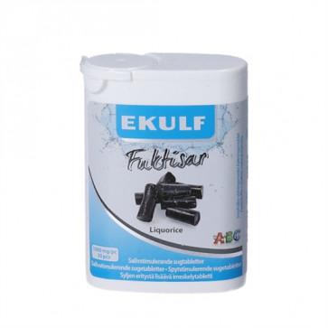 Ekulf Fuktisar Liquorice 30 stk.