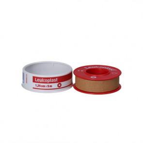 Leukoplast Tape - klassiske tape til brug på normal hud 1,25 cm. x 5 m.