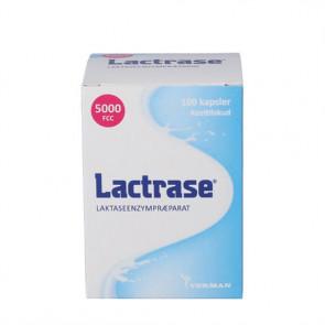 Lactrase 100 kapsler