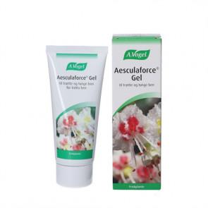 Aesculaforce Gel - kølende og lindrende gel - tunge og trætte ben 100 g.