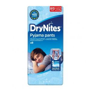 Drynites Boy 8 - 15 år 9 stk.