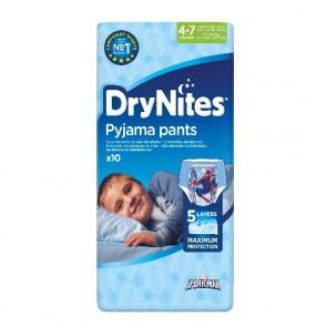 Drynites Boy 4 - 7 år 10 stk.