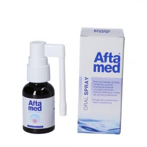 Aftamed Mundspray fremmer helingsprocessen af blister og mindre sår 20 ml.
