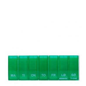 Anabox Doseringsæske 7 i 1 Assorterede farver