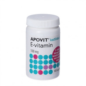 Apovit E-vitamin 100 mg 100 stk.