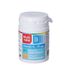 Multi-tabs D3-vitamin 25 mikrogram 180 stk.