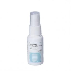 Apotekets Klorhexidin 0.2 % Spray 30 ml.