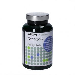 Apovit Omega-3 1000 mg kosttilskud indeholdende fiskeolie 120 stk.