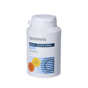 Apotekets Kalk+d vitamin  120 stk