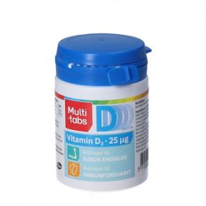 Multitabs D-3 Vitamin 25 mikrogram 300 tabletter