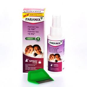 Paranix Spray med lusekam