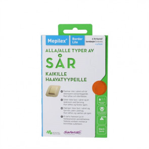 Mepilex Border Lite 4x5cm Skumbandage 4 stk.
