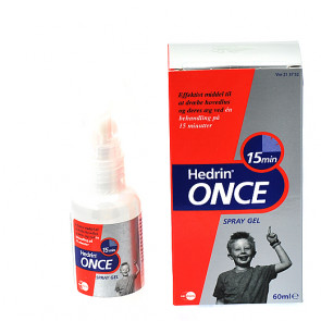 Hedrin Once Spray 60 ml.