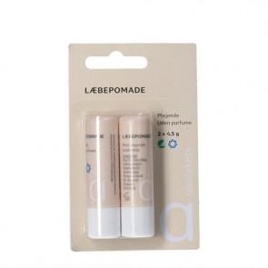 Apotekets læbepomade u. parfume Beige 4,5 g. 2 stk.