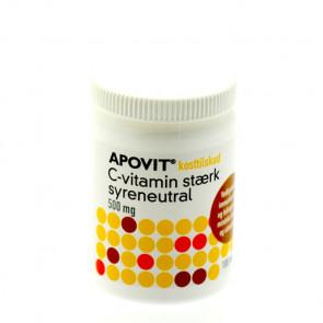 Apovit C-Vitamin Stærk 500 mg.100 stk.