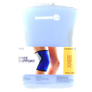 Rehband Knee Support Neopren Støttebind til knæ 3 mm Large 1 stk.