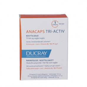 Ducray Anacaps Kosttilskud 30 kapsler