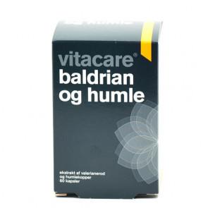 VitaCare Baldrian og Humle 60 stk.