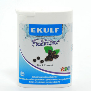 Ekulf Fuktisar Black Currant 30 stk.