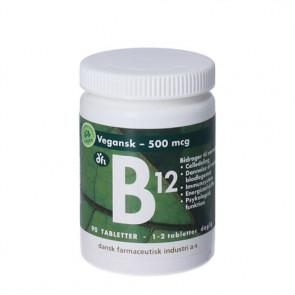 B12 Vitamin 500 mikrogram 90 stk.