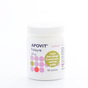 APOVIT Folsyre 100 stk
