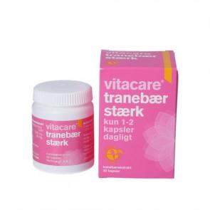 Vitacare Tranebær Stærk 30 kapsler