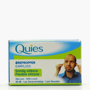 Quies Silikone Ørepropper 1 par