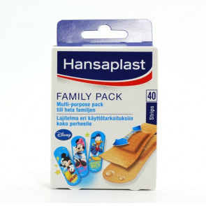 Hansaplast Family Pack 40 strips