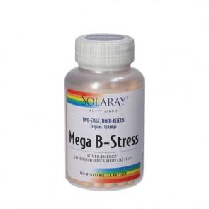 Solaray Mega B - Stress kapsler 120 stk.