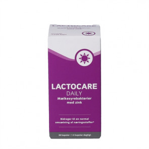 Lactocare Daily med Zink 30 stk.