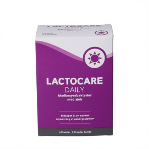 Lactocare Daily m. Zink  60 stk