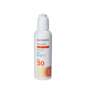 Apotekets Sol Lotion SPF 30 med pumpe 200 ml.