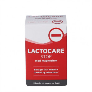 Lactocare STOP med Magnesium 12 stk.