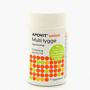 Apovit Multi Tygge Vitamin Voksen 75 stk.