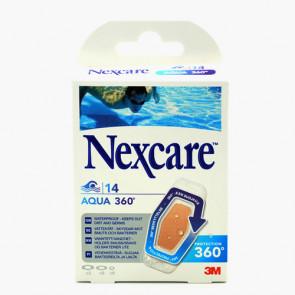 Nexcare Aqua Strips 360 plaster i 3 str. 14 stk.