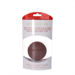 Konjac Face Sponge Premium (rød) sensitiv og/eller moden hud