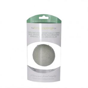 Konjac Face Sponge Premium (grøn) normal, fedtet og kombineret hud