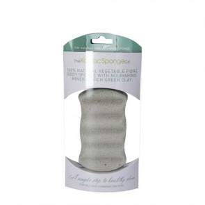 Konjac Body Sponge Premium (grøn) normal, fedtet hud og kombineret hud