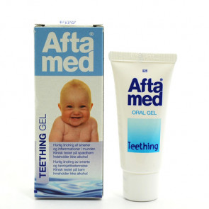 Aftamed Teething gel - til tandfrembrud 15 ml.