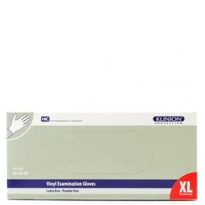 Klinion Protection Handsker Vinyl uden pudder Størrelse X-Large