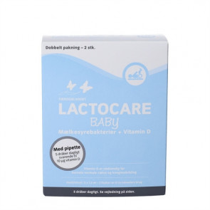 Lactocare Baby dråber 2 X 7,5 ml.