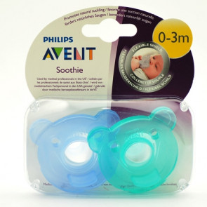 Philips Avent sut soothie 2 stk