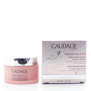 Caudalie Resvèratrol (Lift) Night Infusion Cream Natcreme 50 ml.