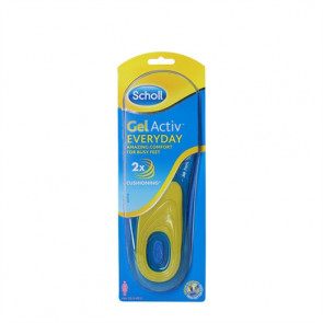 Scholl Gel Activ Everyday Women Såler til sko  Str. 38 - 42