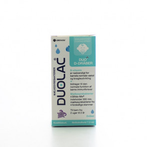 Duolac Duo D-dråber 7,5ml
