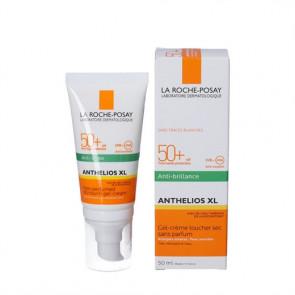 La Roche-Posay Anthelios XL Dry Touch Gel-cream til solsensitiv og solintollerant, fedtet og uren hud i ansigtet SPF 50+ , 50 ml.
