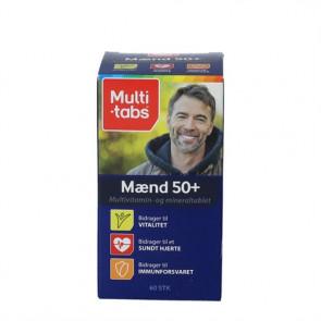 Multi-tabs Mænd 50+ 60 stk.